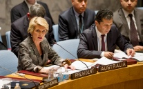 Security Council Meeting on Small arms