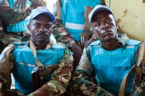 UNAMID leadership visit victims of ambush