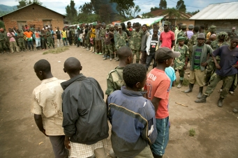 Rebel fighters surrender to FARDC