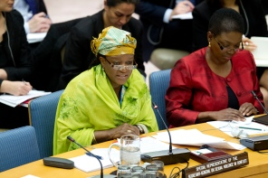 Zainab Hawa Bangura, Special Representative of the Secretary-General on Sexual Violence in Conflict, briefs the UNSC on the situation in Syria.