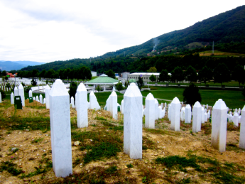 Srebrenica-Potočari Memorial and Cemetery for the Victims of the 1995 Genocide. Photo Credit: Brianna Burt.
