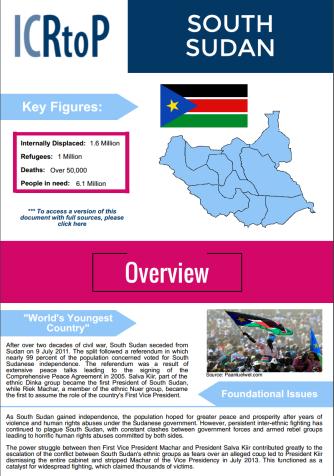 S Sudan Infografic image